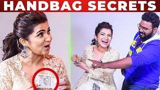 UNLIMITED FUN: DD Roasts VJ Ashiq | Dhivyadharshini Handbag Secrets Revealed!