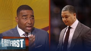 Cris Carter sends Cleveland Cavaliers coach Ty Lue a healthy dose of advice | FIRST THINGS FIRST
