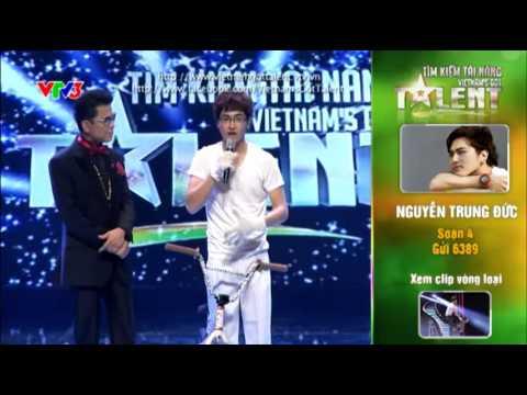 Vietnam's Got Talent 2012 - Bán Kết 4 - Nguyễn Trung Đức - MS: 4