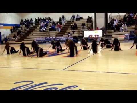 Watkins Mill High School Poms senior night 2013-2014
