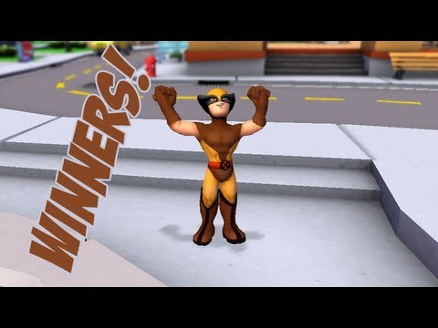 Marvel Super Hero Squad Online Classic Wolverine Code Contest Number Eight Winners- HD