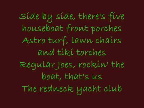 Redneck Yacht Club Craig Morgan LYRICS