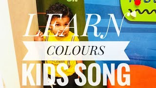 LEARN COLOURS KIDS SONG