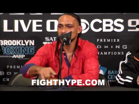 KEITH THURMAN DISCUSSES POTENTIAL CLASH WITH DANNY GARCIA AND WHY HE DOES NOT WANT IT ON PPV
