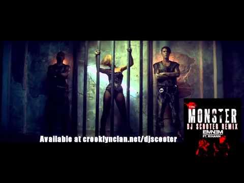 Eminem Ft Rihanna The Monster (dj Scooter Remix) video