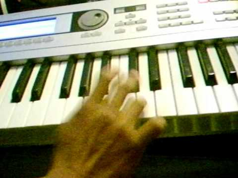 k-paz de la sierra la vecinita tutorial teclado