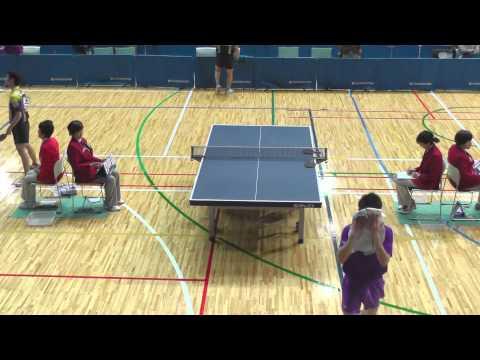 Table Tennis Tokyo MS;Ryo Okada vs Kenji Matsudaira 2013.3.16