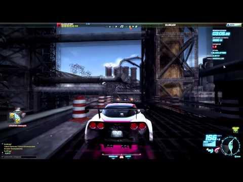 NFS World: Погоня: Late Departure - Chevrolet Corvette Z06 (C.L.E) Beauty / Bella '12 [HD]