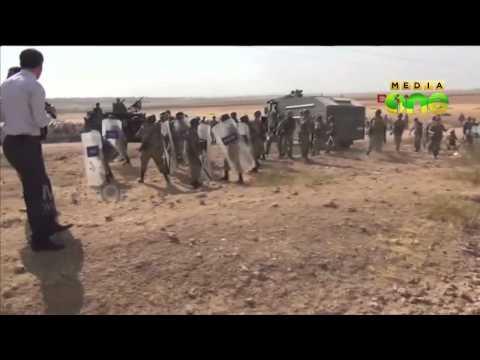 Syrian kurds flee to turkish border as ISIS attacks villages