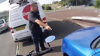 "Stupid, Crazy & Angry People Vs Bikers 2017 | Road Rage ""THIS IS MADNESS!"""