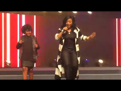 'I Luh God', Gospel Recording artist Erica Campbell and her daughter Krista Campbell