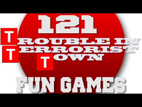 Hey T buddy- PEW OMG! Trouble in Terrorist Town Fun Games #121