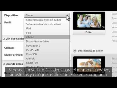 Cómo convertir vídeos en Nero Recode - Español
