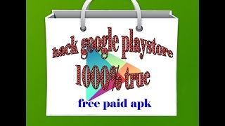 How to get Android all paid apk software and unlimited FREE In App Purchases Android 2017