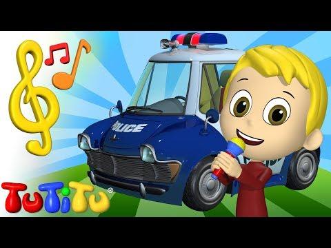 Piosenki Po Angielsku Dla Dzieci | Wóz Policyjny | Nauka Angielskiego Dla Dzieci