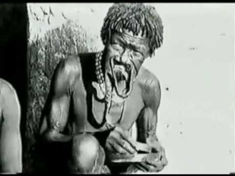 Sara Kaba Lip Plates 1924 video
