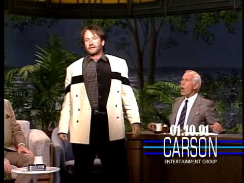 Robin Williams' Hilarious Shakespeare Improvisation, Johnny Carson's Tonight Show video