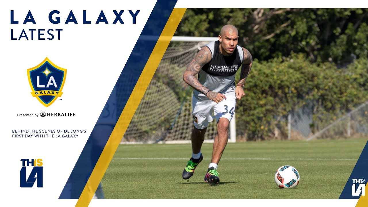 WATCH: Behind the scenes of Nigel De Jong's first day of training with the LA Galaxy   GALAXY LATEST