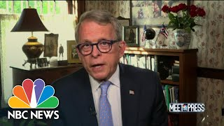 Full DeWine: 'Not About Politics' To Take Safety Measures | Meet The Press | NBC News