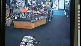 Man steals 46 inch TV from store