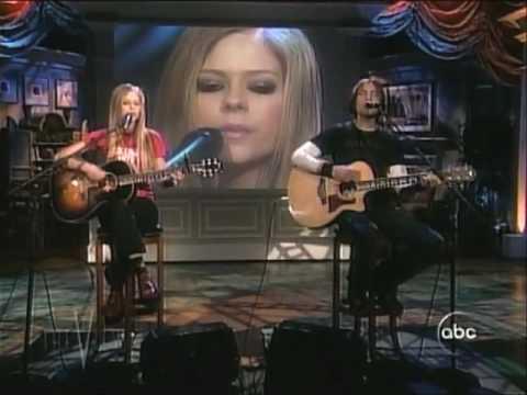 Avril Lavigne Nobody's Home Live [acoustic] video