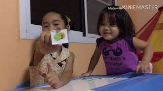 Charmaya teach English for kid : fruits...ฌามาญ่า พี่น้องสองภาษา
