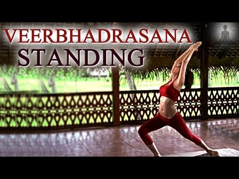 24-Veerbhadrasana