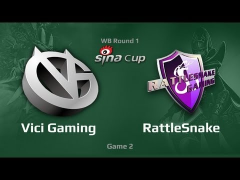 Vici Gaming vs RattleSnake, Supernova Sino Cup, WB Round 1, Game 2