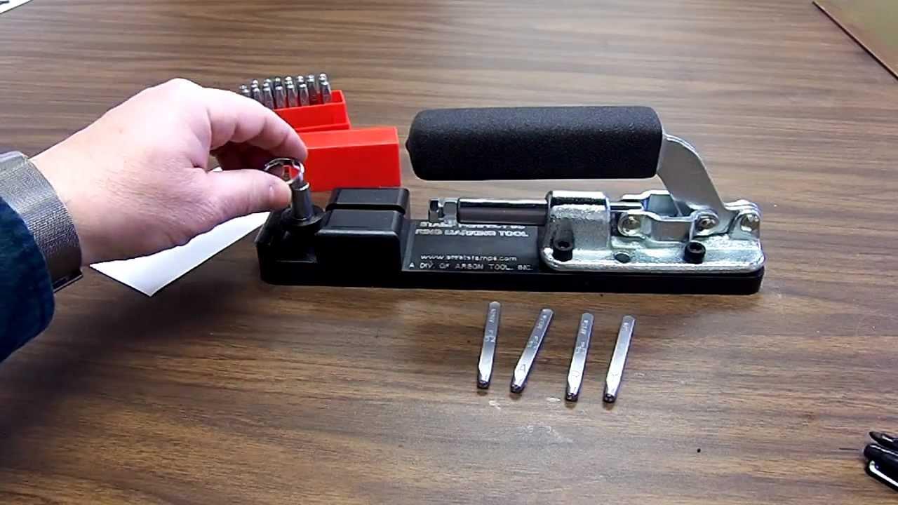 Hand Stamped Ring Kit