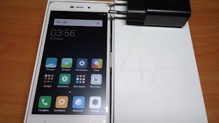 Xiaomi Redmi 4A - ГЛОБАЛЬНАЯ ВЕРСИЯ ТЕЛЕФОНА. РАСПАКОВКА ПОСЫЛКИ.