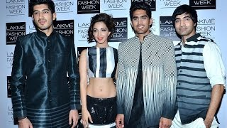 Team Fugly at Lakme Fashion Week 2014