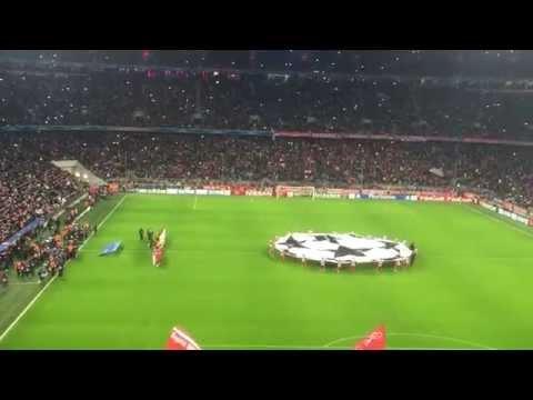 Allianz Arena Gänsehaut Championsleague!!!!
