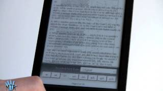 Sony Reader PRS-T1 Review