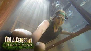 Will Rebecca Survive The Drown Under Trial? | I'm a Celebrity Get Me Out Of Here!