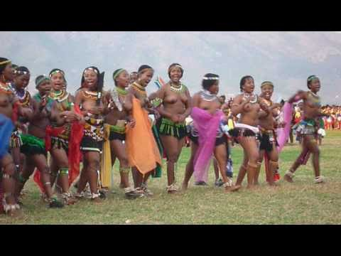 Umhlanga 2009 Reed Dance Swaziland.avi video