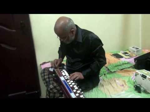 Mujhko Is Raat Ki Tanhai Me Instrumental Cover By Vinay M Kantak video