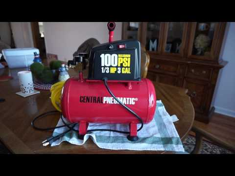 The Harbor Freight Central Pneumatic $49.99 air compressor...is it worth it?
