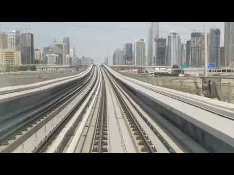 Dubai Metro Cabride to Jumairah Lakes Towers station