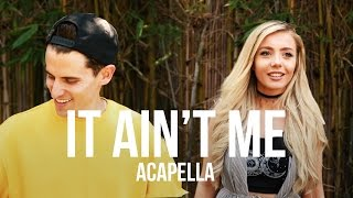 Download Lagu Kygo, Selena Gomez - It Ain't Me [ACAPELLA] Gratis STAFABAND