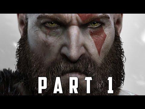 GOD OF WAR Walkthrough Gameplay Part 1 - INTRO (God of War 4) thumbnail
