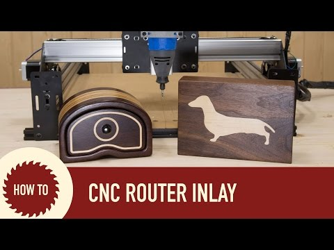 Using ShapeOko 2 and Easel CNC Router for Inlay