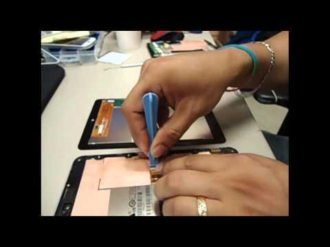 Como cambiar pantalla NEXUS tablet
