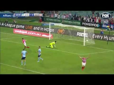 David Villa Goal vs Sydney FC | 10/11/14