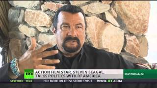 Steven Seagal on (U.S) Diplomacy and Plans to Run for Arizona  2/11/14