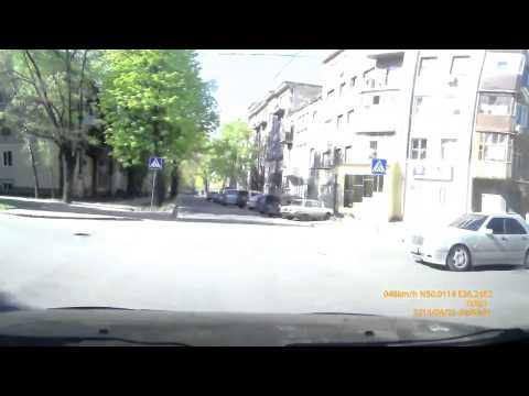 Авария 25 04 2014 в Харькове