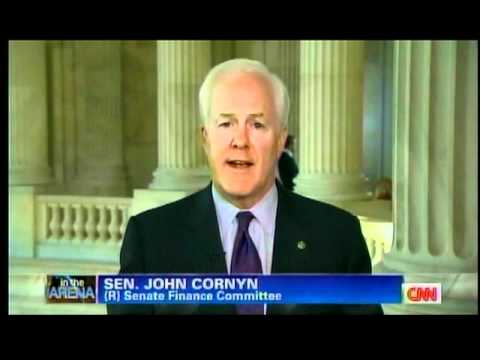 Cornyn Discusses Gas Prices, Taxes on CNN with ED Hill 5-12