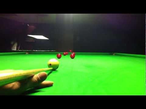 �Snooker straight cueing �