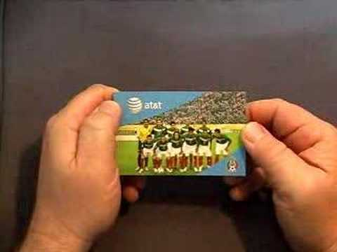 Mexican World Cup Soccer Team Flip Book - Flippies Video