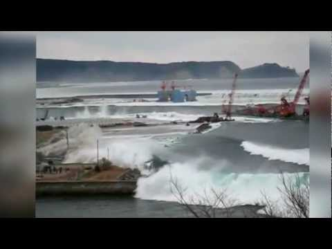 Japan Tsunami 2011 - Compilation caught on video