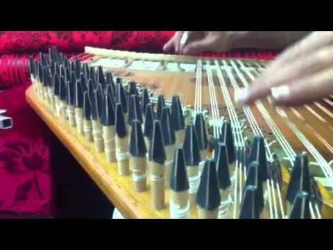 Playing the Qanun in a Wonderful Way - Bassam Khanany